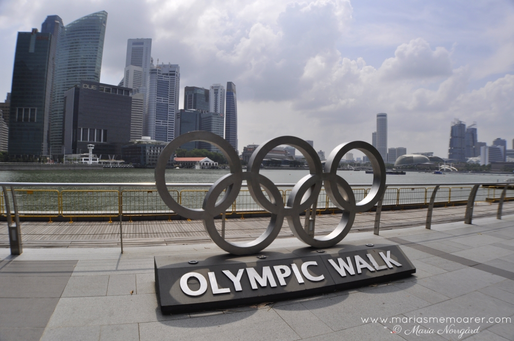 Bayfront in Singapore, Olympic Walk