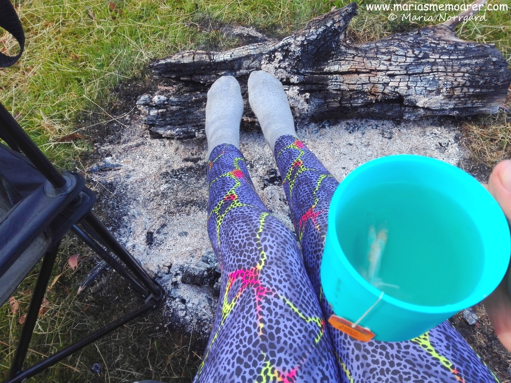 Camping life in Tasmania can actually be cold, even during summer