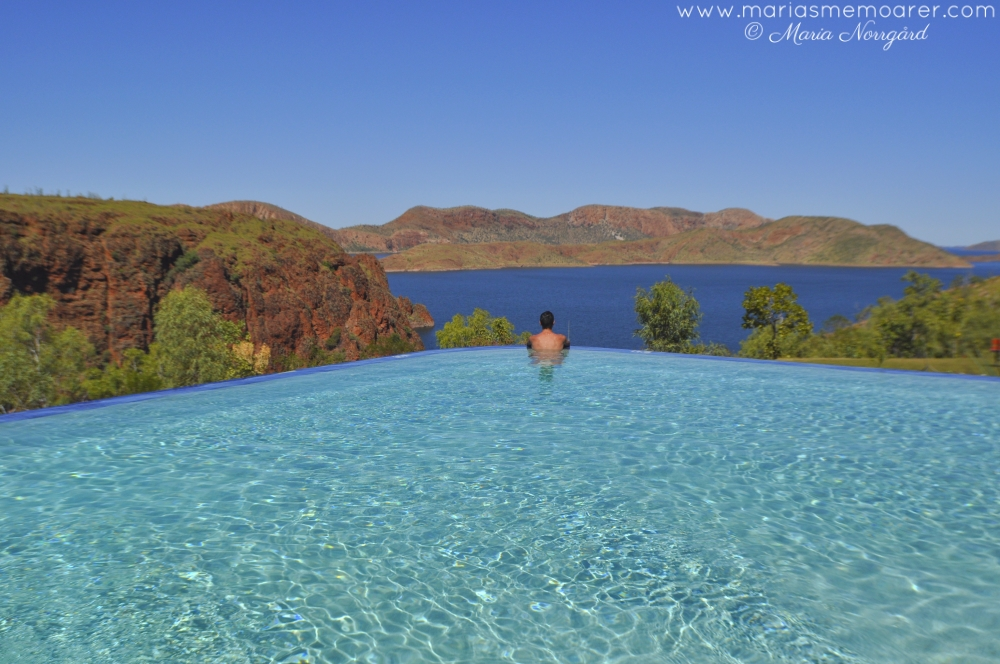 Lake Argyle Infinity Pool - a piece of luxury in Western Australia