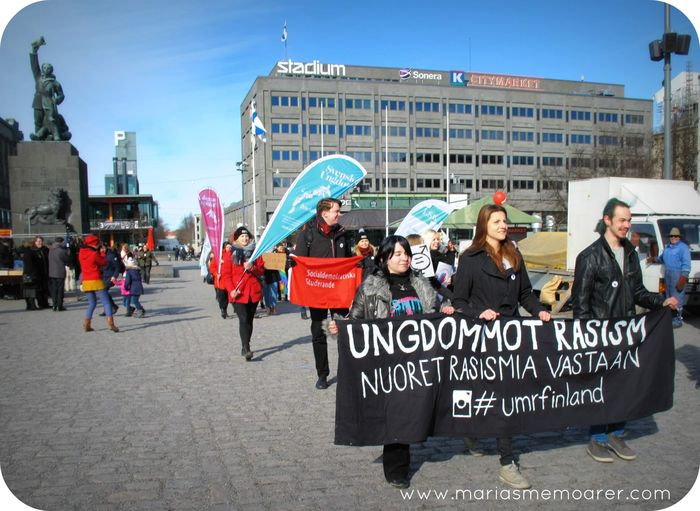 Youth Against Racism, equality parade in Vaasa