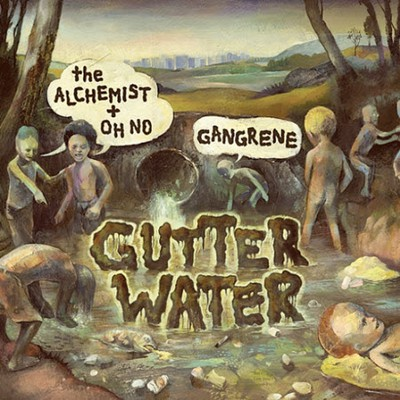 Gangrene - Gutter Water Cover