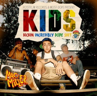 Mac Miller K.I.D.S Mixtape Cover