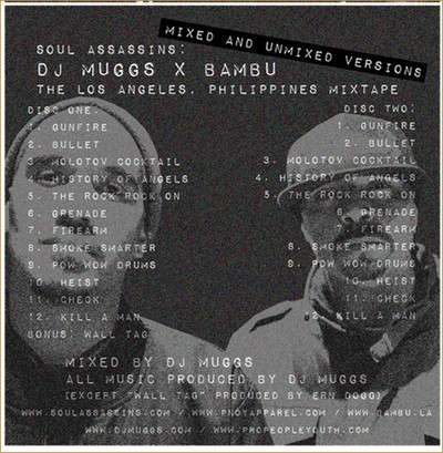 DJ Muggs & Bambu - Los Angeles, Philippines Back