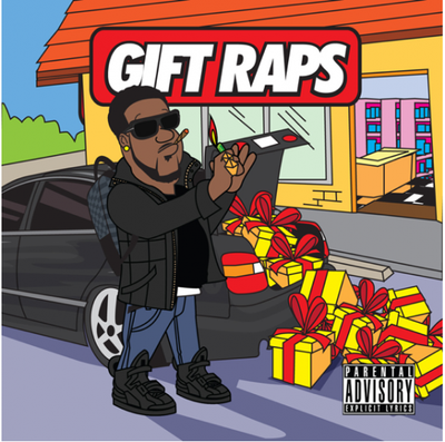 Chip The Ripper - Gift Raps Cover