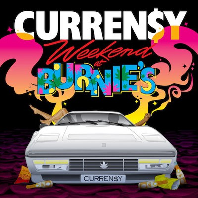 currensy weekend at burnies cover
