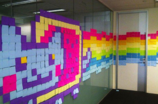 Post-it Japan karaktärer