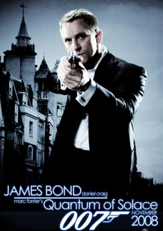 James Bond in Quantum of Solace