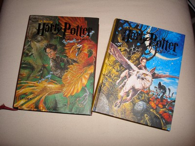 Harry Potter del 2 & 3
