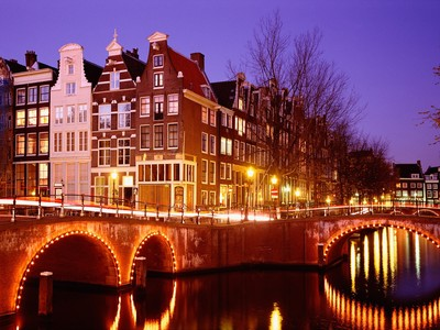 Amsterdam at night :)