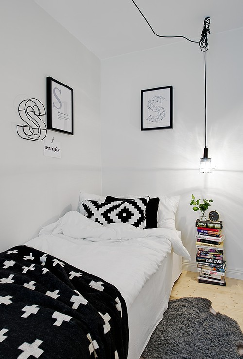 Nice Monochrome Bedroom Ideas There Is No Place Like Home