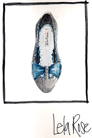 Really nice drawing of a really nice shoe