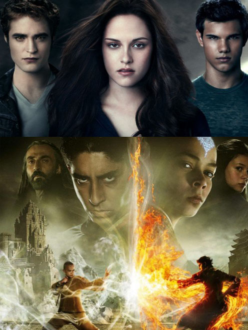 Twilight Saga Eclipse & The Last Airbender Boxoffice hits