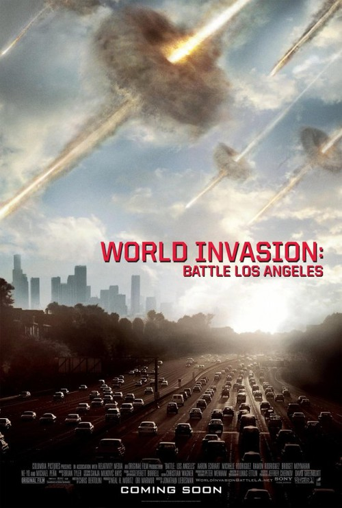 Film: World Invasion: Battle Los Angeles - Betyg * * *