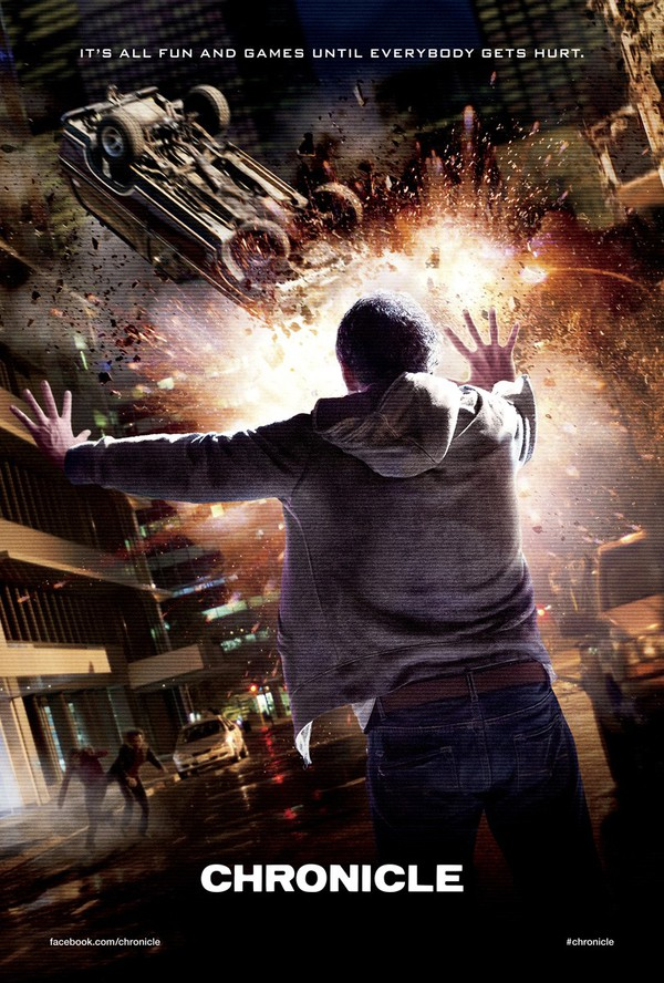 Film: Chronicle - Superhjälte film med indie-feeling