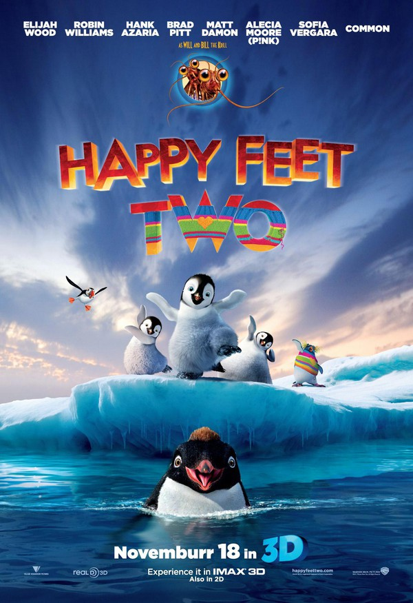 Film: Happy Feet 2 - En småunderhållande barnfilm