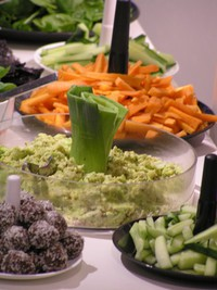Raw food, en del av Temple of Spirited Livings filosofi