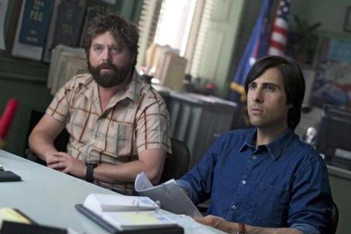 Jason Schwartzman & Zach Galifianakis i Bored to Death