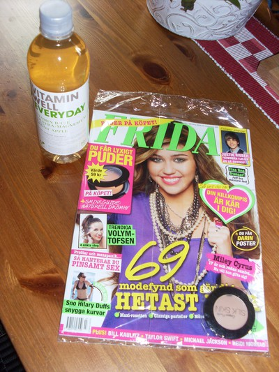 Vitamin Well och FRIDA.