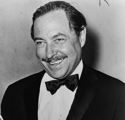 Bild på Tennessee Williams lånad från Wikipedia