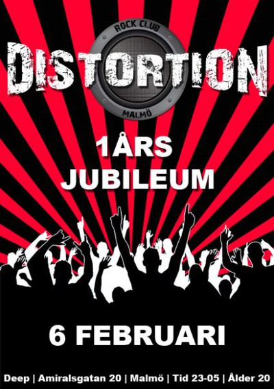 Distortion 1 år