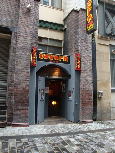 The Cavern i Liverpool.
