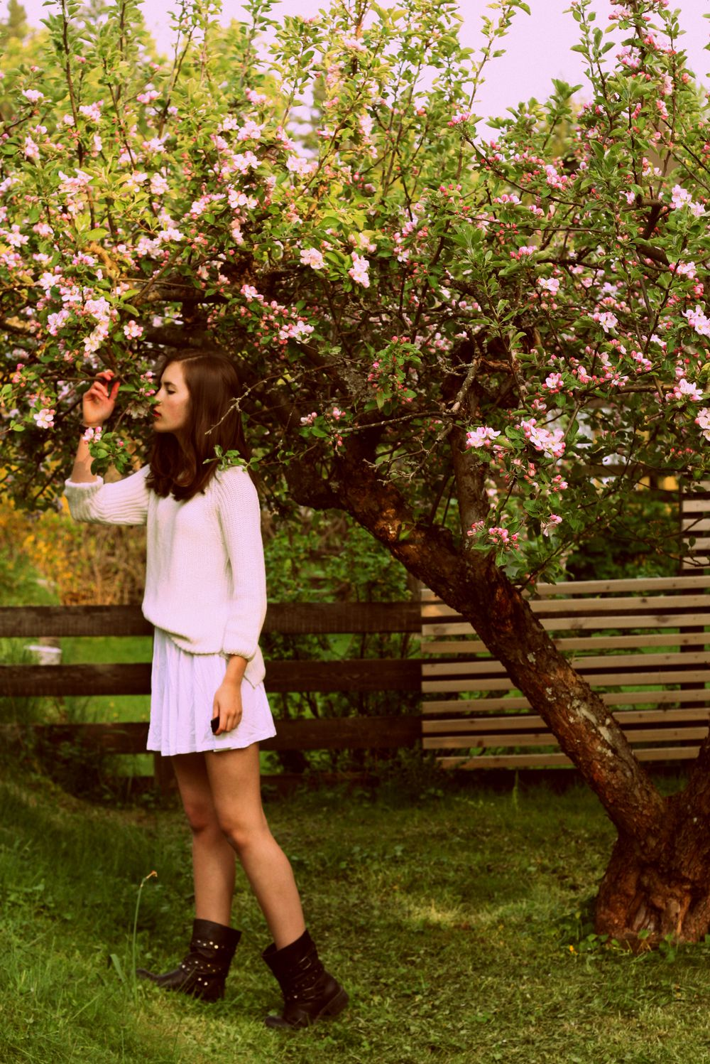 flower, tree, fashion, angelica blick style, elvira axelsson