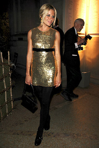 Sienna Miller in Burberry
