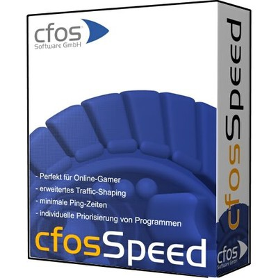 cFosSpeed  Internet Acceleration with Traffic Shaping and bandwidth management. Ping optimizer plus packet prioritization. Maximum Download and Minimum Ping. For DSL, ADSL, VDSL, Cable, Modem, ISDN, Mobile (GSM, GPRS, HSCSD, UMTS, HSDPA), Filesharing (P2P), Online Games, VoIP, Streaming Media and Tuning. Version 4.50 build 1456 adds new skin: