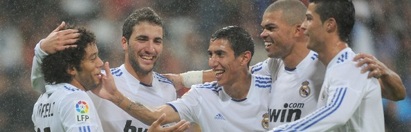 Real Madrid - Gonzalo Higuain & Angel Di Maria