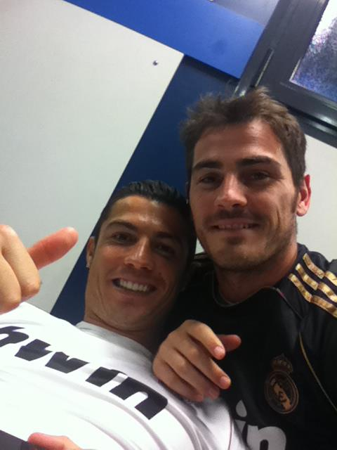 Ronaldo & Casillas