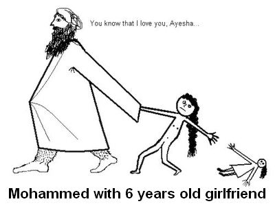 Myhammed with 6 years old Ayesha