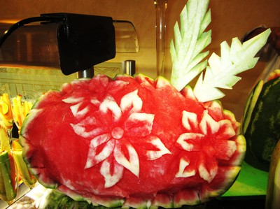 Arty watermelon!
