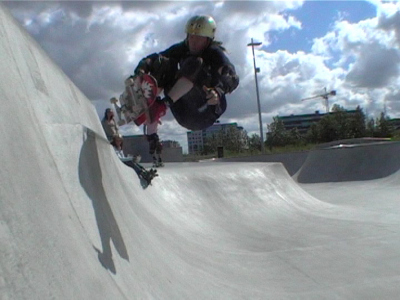 look I'm flying. FS air at stapeln
