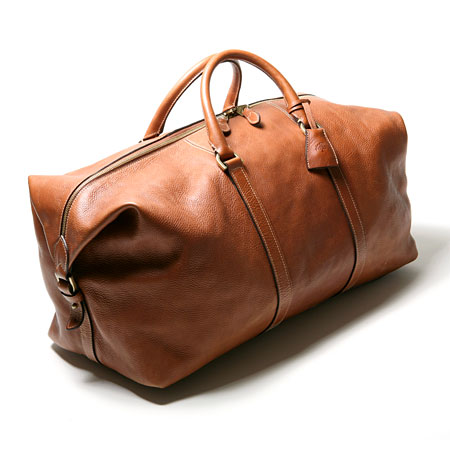 Small Clipper duffel, $1,395, mulberry.com