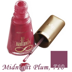 Max fakor Nailfinity midnight plum 710