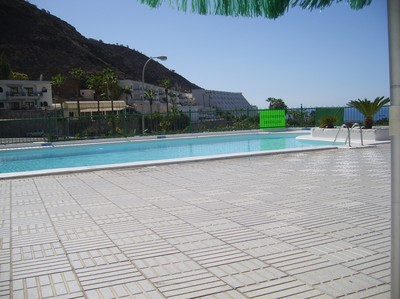 Aquacanis' pool, Gran Canaria.