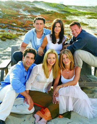 På bild: Jennifer Aniston, 40, Matt LeBlanc, 42, Matthew Perry, 40, Courteney Cox, 45, Lisa Kudrow, 46, och David Schwimmer, 42,