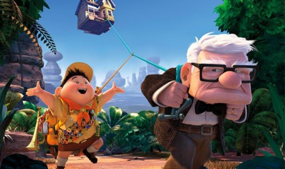 up upp disney pixar animerad film