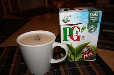 Pg Tips - Probably the best tea in the world.