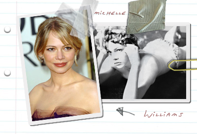 Stilstudie - Michelle Williams
