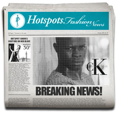 Breaking Fashion News - Djimon Huonsou ny kalsongmodell