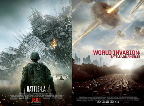 som får heta World Invasion Battle Los Angeles i sverige