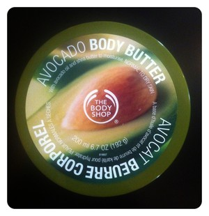 Body Butter avocado Body Shop