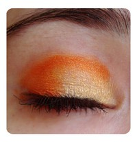 Orange Eye Shadow