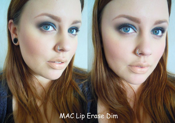 MAC lip erase dim