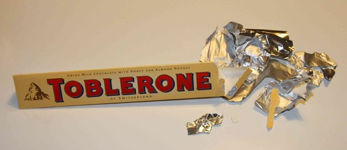 Toblerone - The Munchies? Uppäten av en råtta?