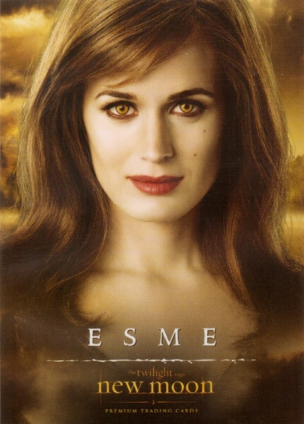 esme new moon trading cards