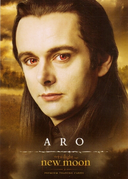 Aro, new moon trading cards