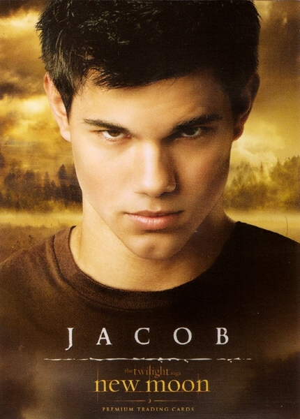 jacob new moon trading cards