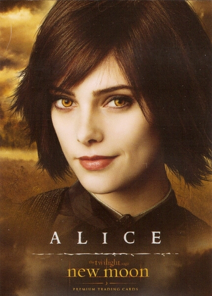 alice new moon trading cards